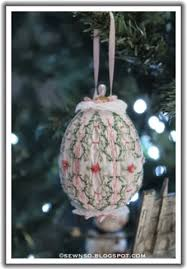 sewnso s sewing journal smocked ornaments