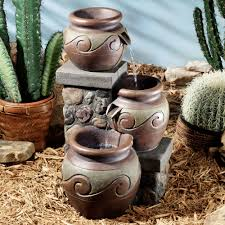 corrales indoor outdoor southwest water fountain