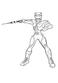 power rangers samurai version coloring book sheets cartoon