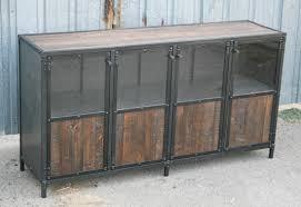 rustic wood display cabinet combine 9 industrial furniture reclaimed wood display case