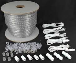 clear 150 chasing rope light spools 3 wire 120 volt