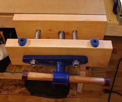 cabinet maker u0027s vise installation 15 steps with pictures