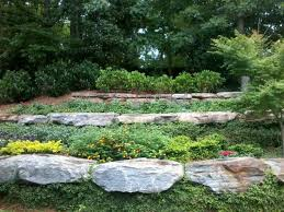 Tiered Backyard Landscaping Ideas Backyard Slope Landscaping Stunning Best Backyard Landscape