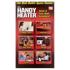 as seen on tv handy space heater 350 watts walmart com