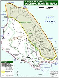 map of mackinac island cross country skiing on mackinac island