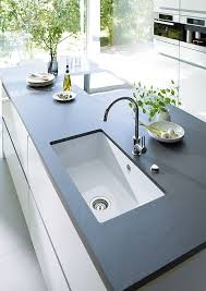 white sink black countertop 15 functional double basin kitchen sink home design lover with
