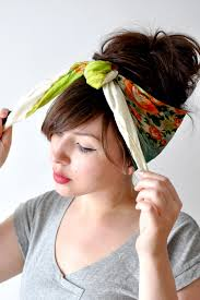 tying a head scarf might have to get a little more body in my