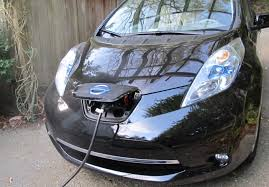nissan leaf home charging life with the leaf charging up clean car diaries quest kqed