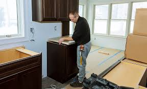 how to attach kitchen base cabinets how to install base cabinets the home depot