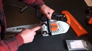 stihl ms150 tc e top handled chainsaw review and demonstration