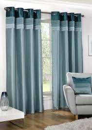 Teal Eyelet Blackout Curtains Ready Made Curtains Curtains Com