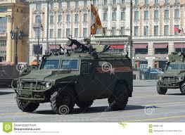 gaz tigr ensayo del desfile en honor de victory day en moscú el gaz tigr es