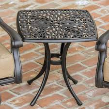 Metal Patio Side Table Wayfair Patio Side Table Metal