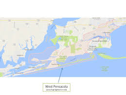 Map Pensacola Florida by Areas Of West Pensacola Military Town Advisor