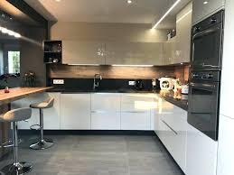 cuisine équipée blanc laqué cuisine laquee blanche avec cuisine with cuisine design
