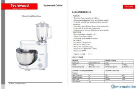 cuisine multifonctions de cuisine multifonctions avec blender 600w a vendre