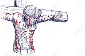 realistic drawings of jesus on the cross drawing art ideas