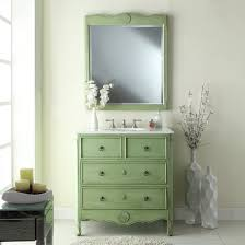 Mint Green Bathroom by 34 Inch Vanity Hf081gm Vintage Green