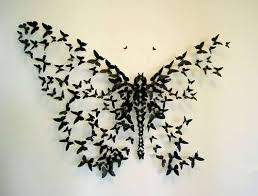 wall designs best 25 butterfly wall art ideas on pinterest 3d butterfly wall
