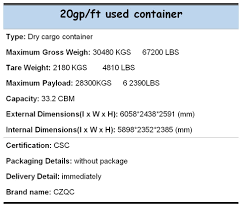 retail price marine used container for sale buy container used