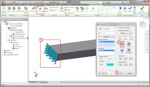 nastran in cad 2017 for inventor help section 3 cantilevered