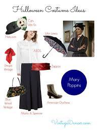Halloween Costumes Mary Poppins Unique Vintage Halloween Costume Ideas