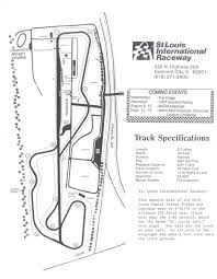 Road Atlanta Track Map by Can Am Championship Programme Covers Championships Racing