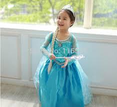 Halloween Elsa Costume Freeshipping Frozen Elsa Costume Frozen Anna Dress Halloween
