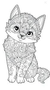 cute kitten printable coloring pages vibrant ideas delightful