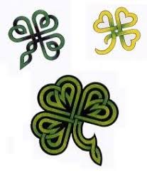 celtic clover irish clover shamrock celtic knot decal sticker