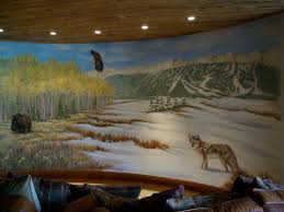 painted wall murals sculpted relief art on walls residential and commercial painted wall mural samples home