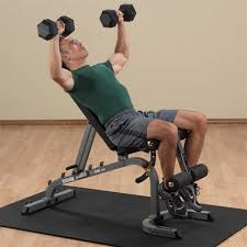 Incline Decline Bench Exercises Bodysolid Bos Gfid31 Flat Incline Decline Bench
