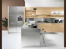 cuisine bois et inox charmant cuisine bois et inox et cuisine en bois inox maison