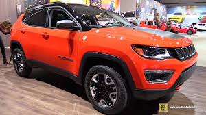 jeep compass 2016 interior 2017 jeep compass trailhawk exterior and interior walkaround
