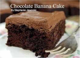 chocolate banana cake cook diary