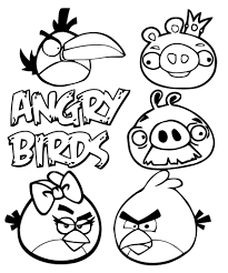 coloriages angry birds 4 angry birds coloring pages coloring