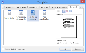 how to create a resume template how to create a resume in kingsoft writer kingsoft office