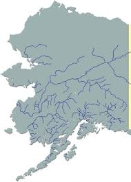 Alaska Map Cities by Alaska Rivers Map Afputra Com