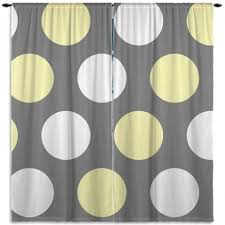 Grey And White Polka Dot Curtains Best 25 Yellow Kids Curtains Ideas On Pinterest Pictures For