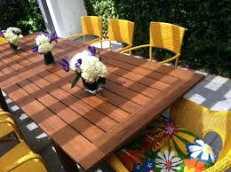 outdoor dining table plans wood patio table plans vulcan sc
