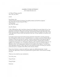 cover letter example cover letter for resume general sample cover