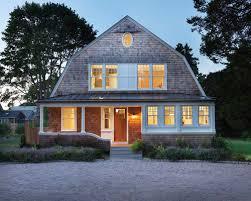 Gambrel Style House Gambrel Barn Home Porch Houzz