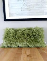 vegan home decor faux fur home decor faux fur nicole miller home faux fur
