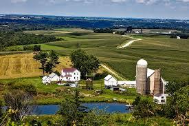 Iowa landscapes images Free photo iowa landscape scenic farm silo free image on jpg