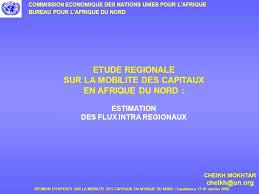 bureau d étude mobilité etude regionale sur la mobilite des capitaux en afrique du nord
