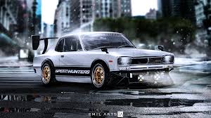 nissan skyline 2015 blue nissan skyline gtr 1970 by emil arts on deviantart