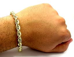 gold bracelet rope images 10k yellow gold thick smooth hollow rope bracelet 8 50 inch 8mm jpg