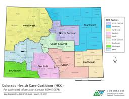 Boulder Colorado Map Health Care Coalitions Department Of Public Health And Environment