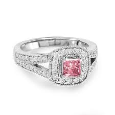 pink wedding rings pink diamond engagement rings best images collections hd for