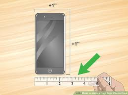 how to make a duct tape iphone case with pictures wikihow